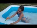 Челлендж в бассейне challenge in the pool