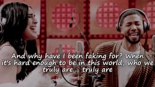 "Empire Cast - ""Simple Song"" ft. Jussie Smollett & Rumer Willis w/ lyrics"