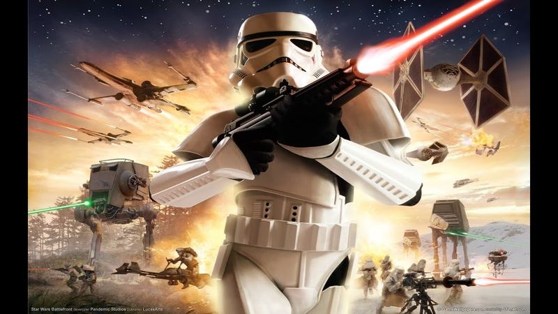(Playthrough)Star Wars Battlefront 2004-Both Historical Campaigns