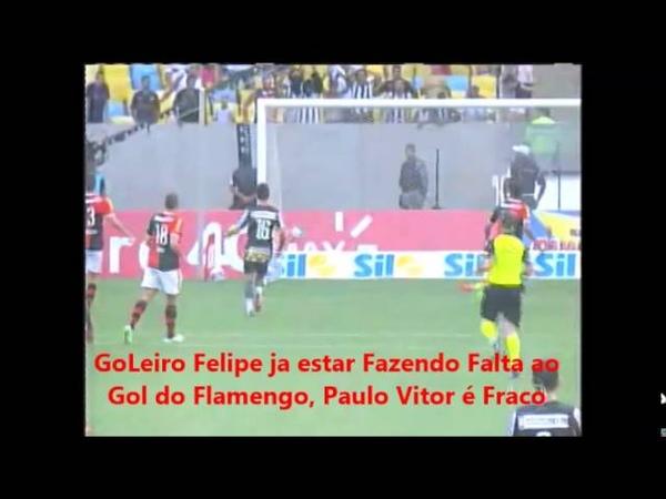 Paulo Vitor - Goleiro Frangueiro - Felipe Faz falta