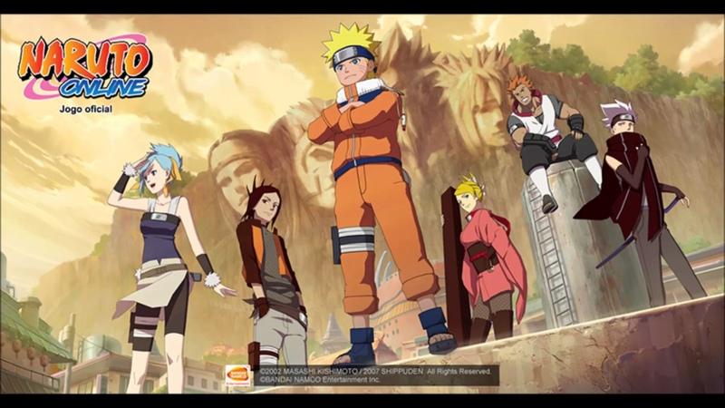 Naruto Online Soundtrack - Verborgene Lichtung
