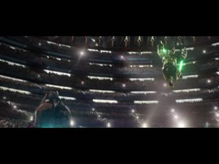 Thor ragnarok with lightsabers