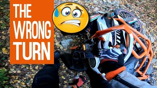 KTM Adventure - the WRONG turn - how NOT to do off road