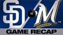 Moustakas' late HR lifts Brewers, 3-1 | Padres-Brewers Game Highlights 9/17/19