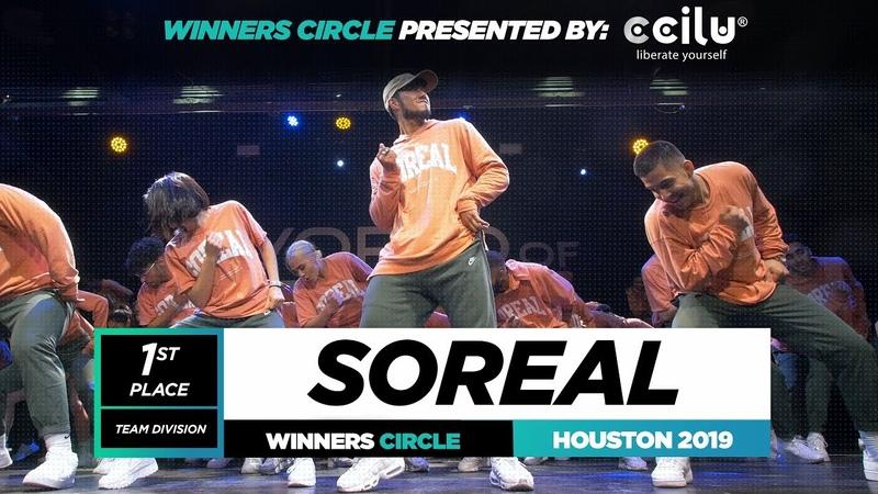 SOREAL 1st Place Team Winner Circle World of Dance Houston 2019 WODHTOWN