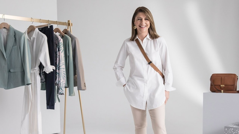 Two ways to wear the longline shirt
