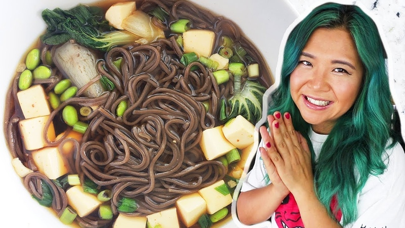 Easy MUST TRY Noodle Soup (Broth From Scratch!) RECIPE Cook With Me