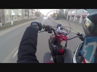 /ride on ice/whellies or city/ jmc 140 motard