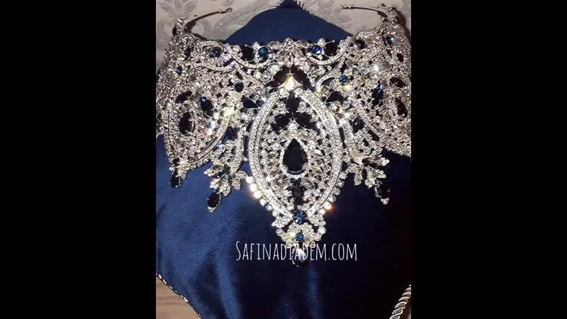 New Swarovski crown 👑💙💎
