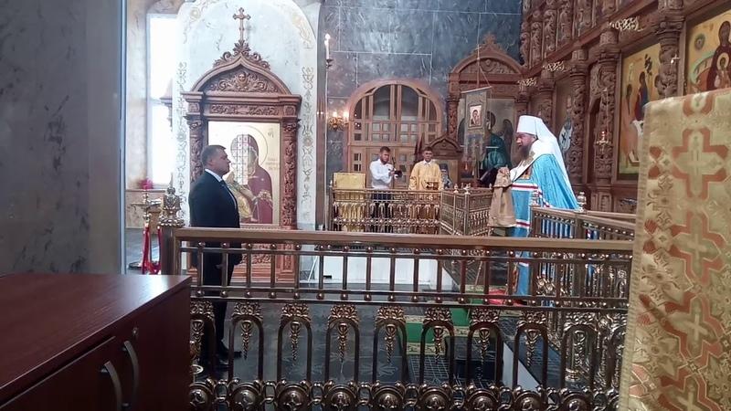 Инаугурация в Астраханском кремле Бабушкина Игоря Юрьевича