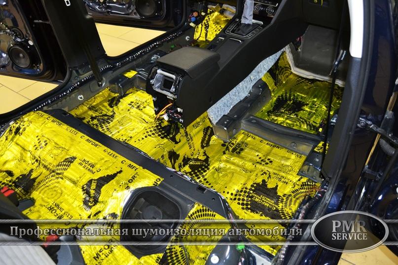 Шумоизоляция Volkswagen Passat, изображение №4