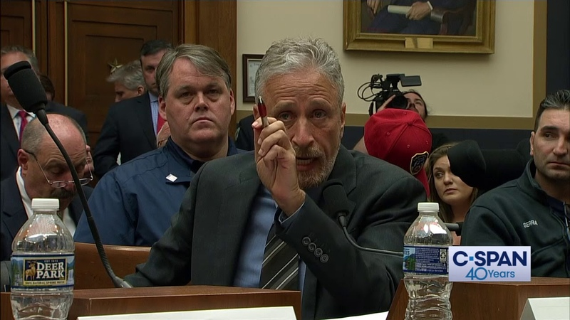 Jon Stewart Opening Statement on 911 Victim Compensation Fund (C-SPAN)