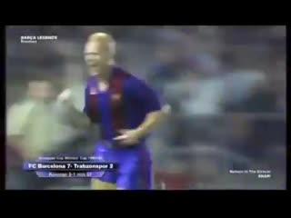 Throwback to when ronald koeman assisted himself vs trabzonspor