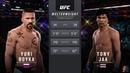 Yuri Boyka Vs Tony Jaa 2 EA Sports UFC 2 INCREDIBLE INTENSE