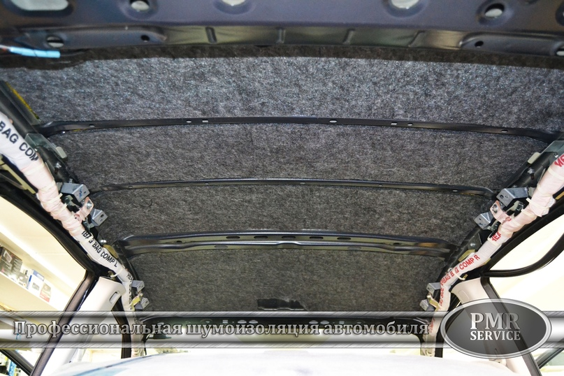 Комплексная шумоизоляция Subaru Impreza, изображение №6