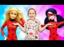 Лучшие Подружки • Леди Баг и Барби спасают город. Супергерои видео для девочек.
