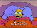 Homer in Bed and needs a pee