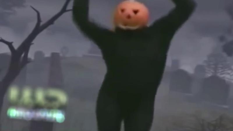 Танец человека-тыквы