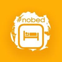 Логотип  nobed booking
