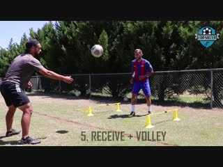 Full session. finishing, technique, agility and speed fdb soccer