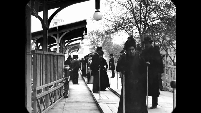 Late 1890s A Trip Through Paris France speed corrected w added sound