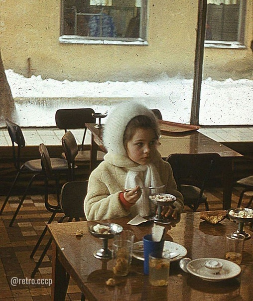 Кафе «Малыш», Тула, 1979 год.  А какие у вас воспоминания о кафе со сладостями