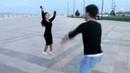 Исахан Райми - Девушка Привет🌹Дай мне ответ.Супер Лезгинка В Баку Парень и Девушка Танцуют 2019