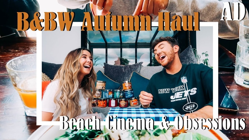 B BW Autumn Candles Beach Cinema Newest Obsessions AD