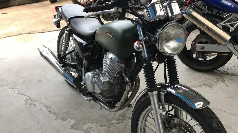 0182 - Honda CB400SS-E