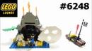 LEGO 6248 Volcano Island Pirates Set speedbuild