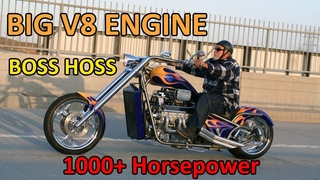 BIG ENGINE with 1000+ Horsepower - BOSS HOSS