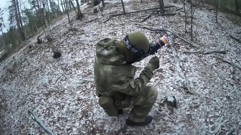 Осколочная граната и гречневая бомба.