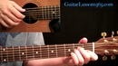Kansas - Dust In The Wind Guitar Lesson Pt.1 - Intro Verse