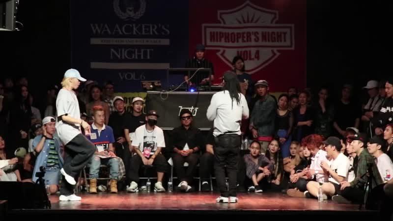 T vs. Semi - Solo Quarter final @Hiphoper`s night vol.4
