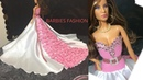 DIY Fast and easy Barbie dress | Awesome Glamorous party gown for Barbie