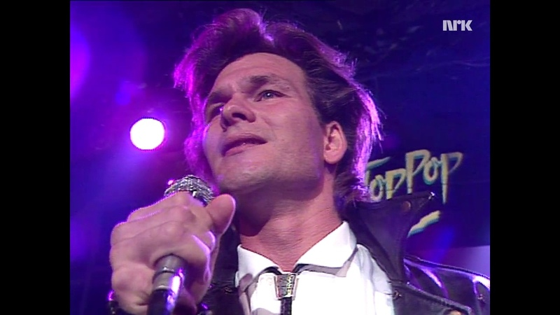 Patrick Swayze Shes Like The Wind TopPop Norway 1987