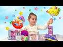 Ariana Unpack Toys. Распаковка Чупа-Чупс, ЛоЛ, ЧиЧи Лав, Шопкинс 3 VLOG