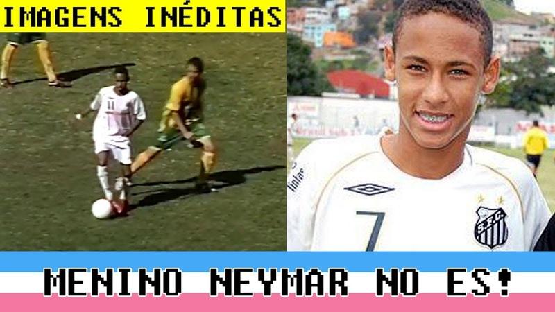 Neymar (16 anos) dá show no futebol capixaba contra o Tupy!