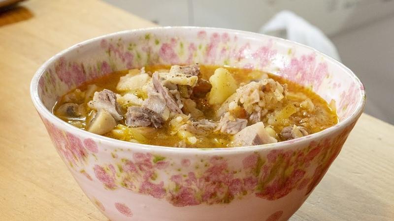 Домашний суп из семи чтобы вы подумали Правильно ингредиентов