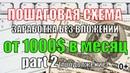 Пошаговая Схема Заработка без вложений денег от 1000$ в месяц часть 2 0