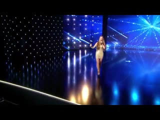 15 Year Old Ana Munteanu Sings like a Pro! _ Auditions Week 7 _ Românii au talen