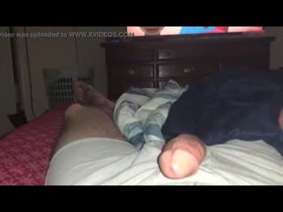 Homemade milf sucks cock