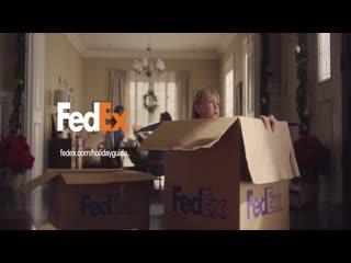 Реклама курьерской достаи fedex