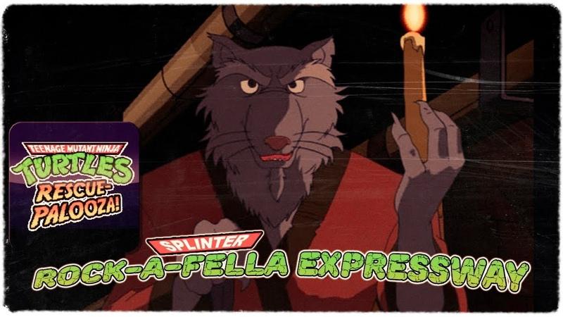 Teenage Mutant Ninja Turtles Rescue-Palooza! - Rock-a-fella expressway