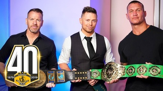#My1 Intercontinental Champions roundtable interview with Randy Orton, The Miz & Christian