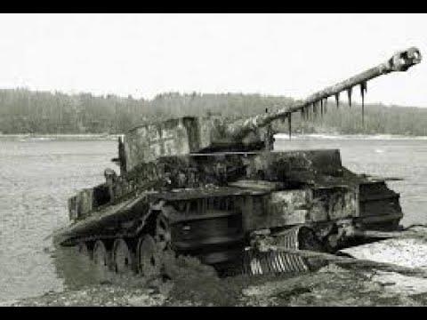 Как достают танки из болот WW2