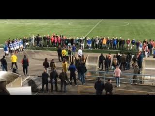 Церемония награждения IV Открытый Кубок Костромской области по футболу 8х8. Суперлига. Финал ()