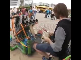 Высокие технологии () - Самодельный инструмент из труб