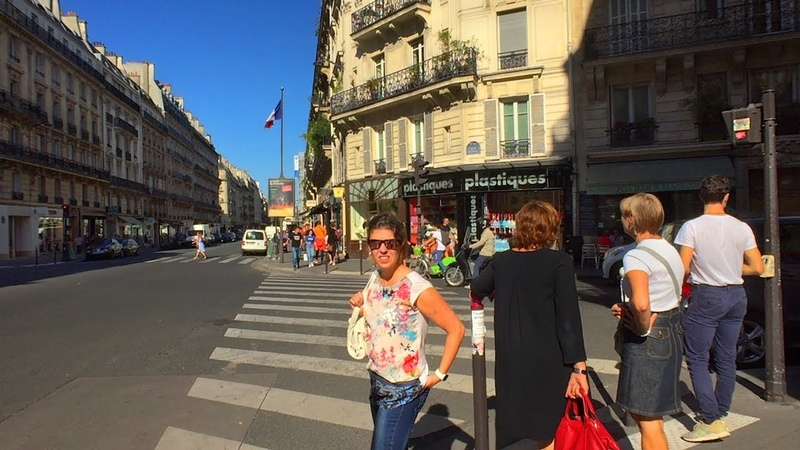 Walking Paris's Rue de Rennes to Saint Sulpice Church and the Senate at Luxembourg Palace