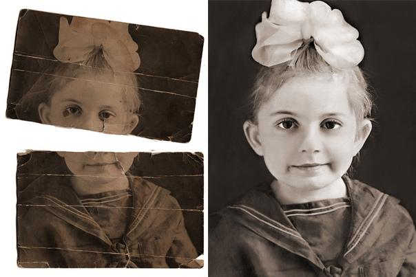 копия со старых фото можно размазать объект